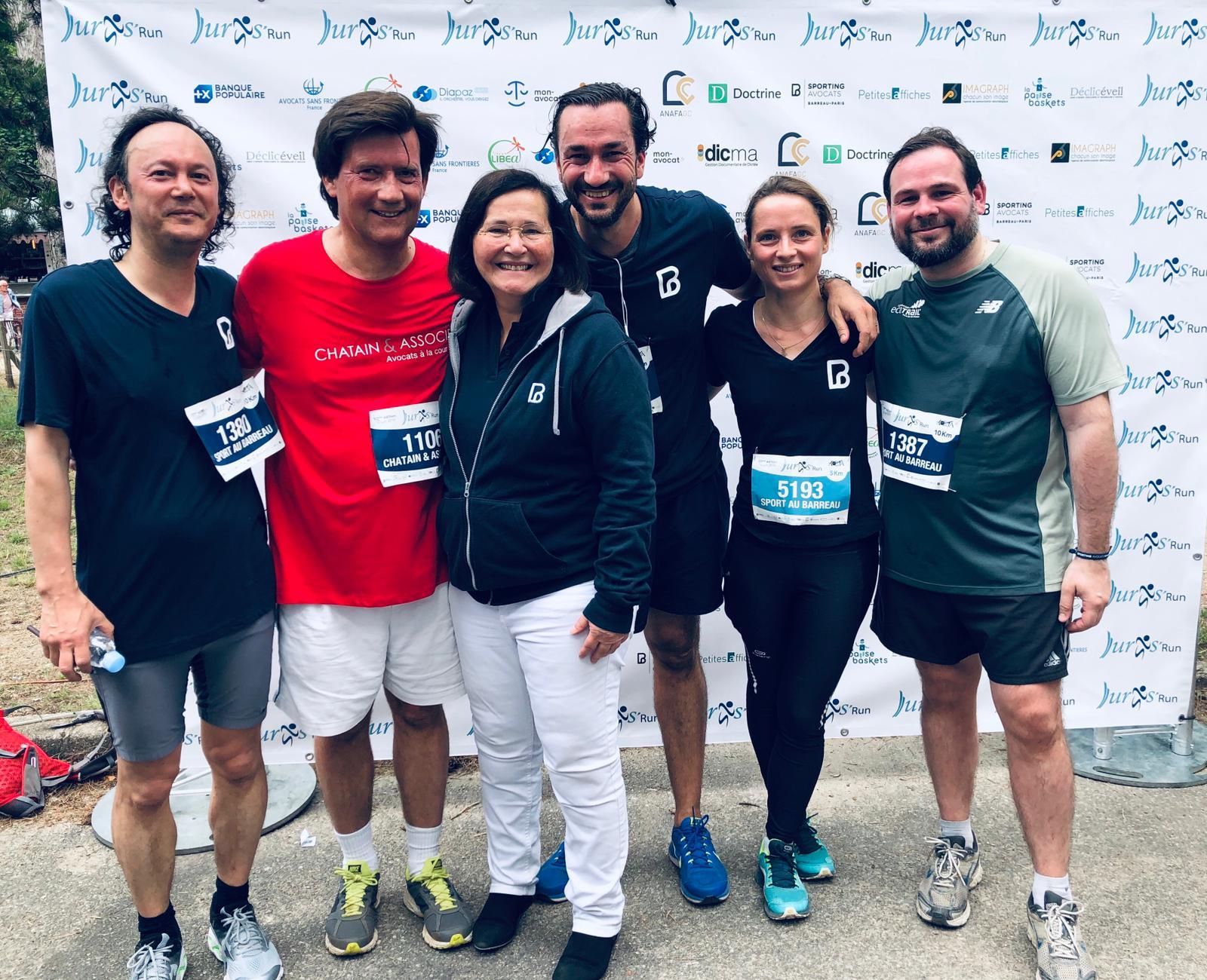 """<span style=""""font-size:11pt""""><span style=""""line-height:107%""""><span style=""""font-family:""""Calibri"""",sans-serif"""">CHHUM AVOCATS (Paris, Nantes, Lille) a participé à la Juris Run 2019 au Bois de Boulogne qui s'est déroulée le 16 juin 2019 à 10h.</span><"""