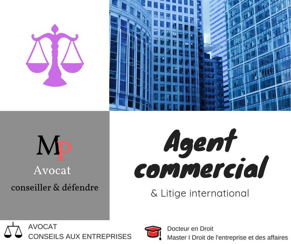 Agent commercial : Droit et juridiction compétente - conflit transfrontalier européen