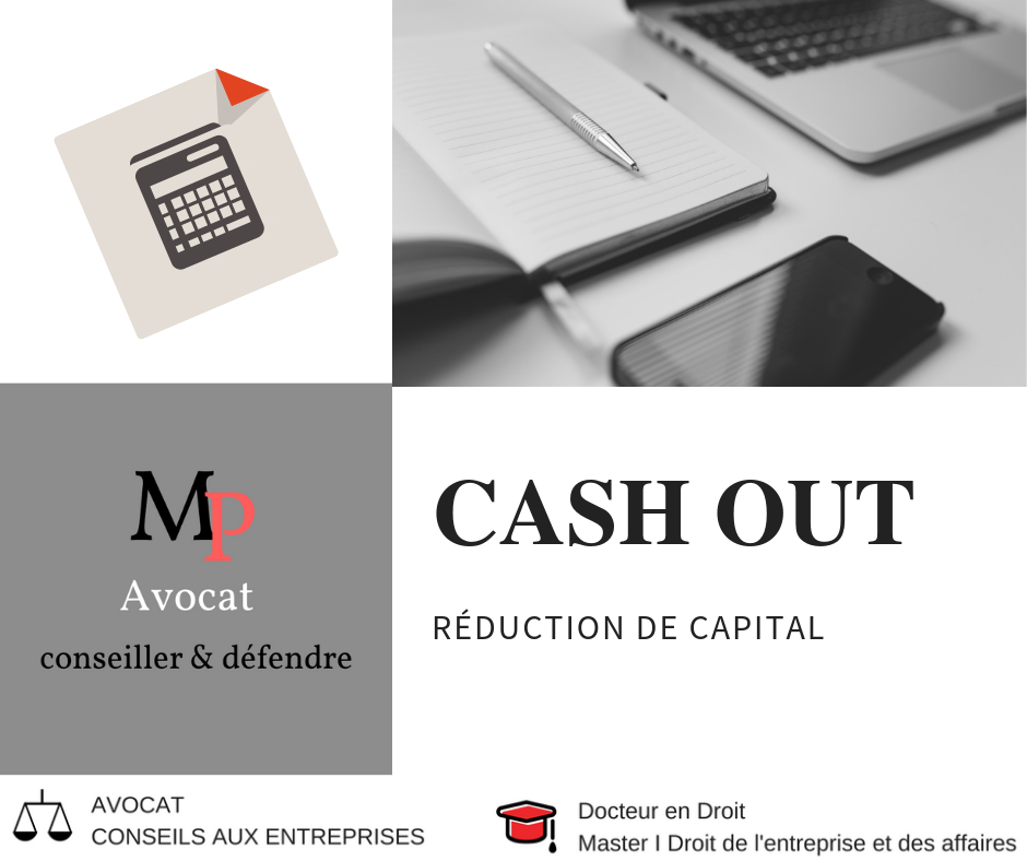 Le cash out par réduction de capital
