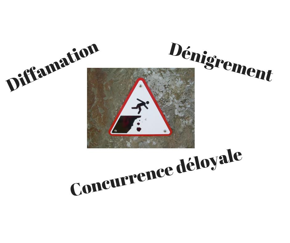 Diffamation et dénigrement d'entreprise concurrente