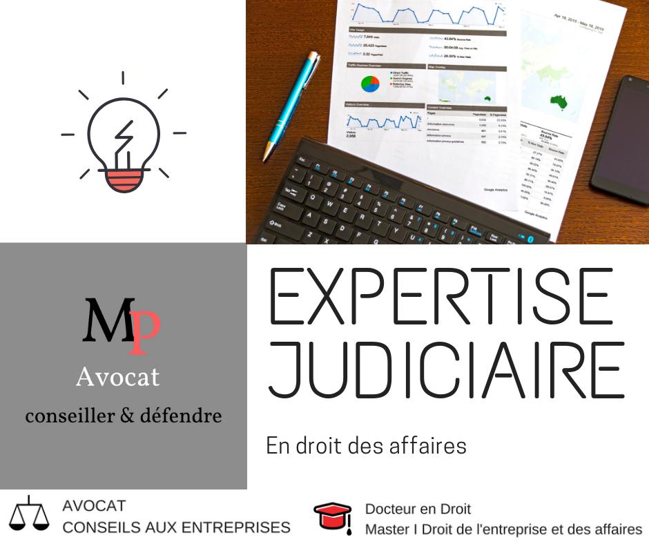 L'expertise judiciaire en droit des affaires