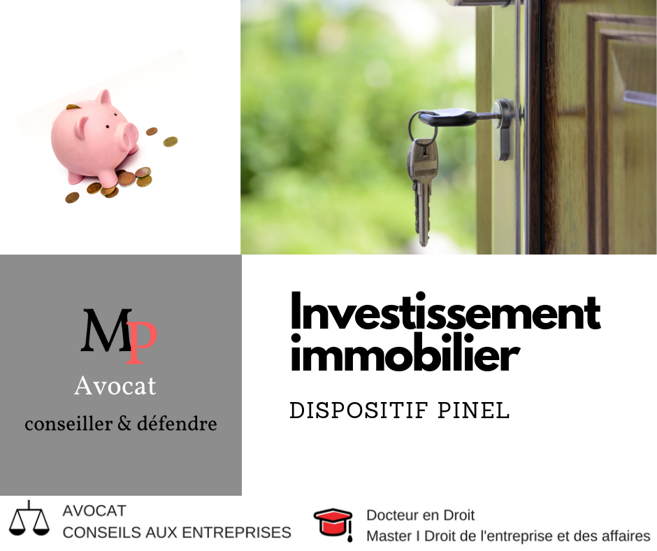 Les investissements immobiliers via dispositif PINEL
