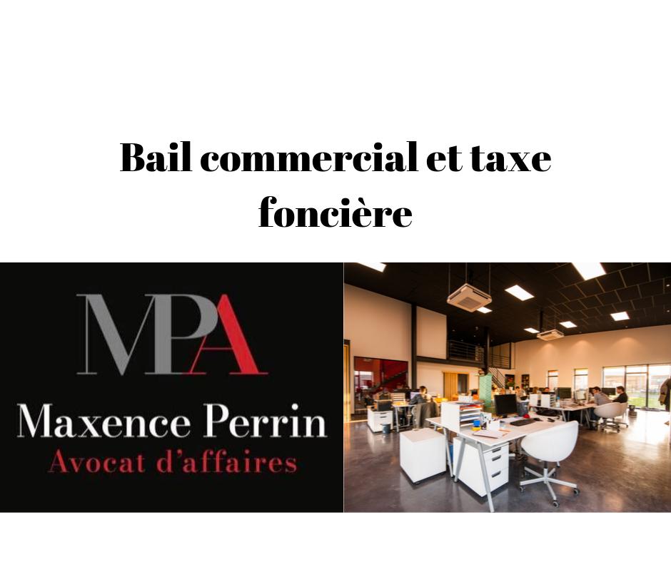 Bail commercial et taxe foncière