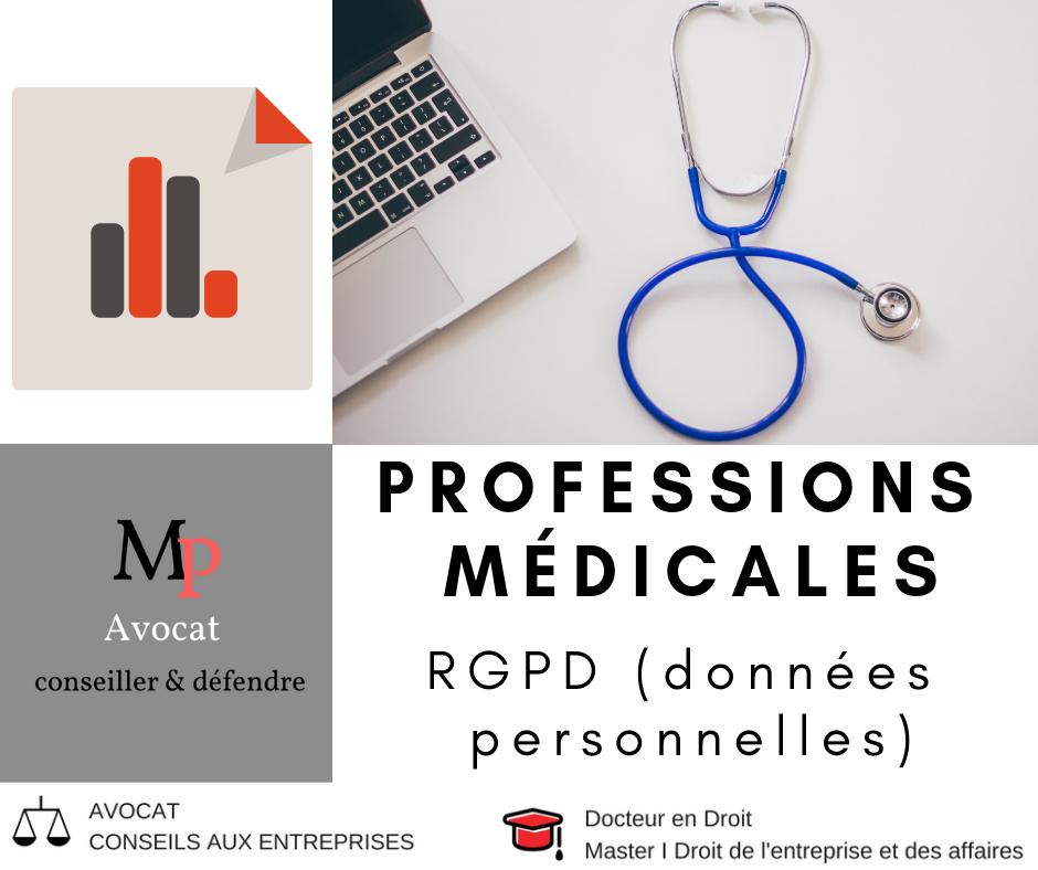 Cabinets médicaux et RGPD (traitement des données personnelles des patients)